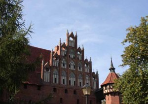 Hitler used Malbork as a template for the Order Castles of the Third Reich.photo by Morgan Thomas