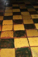 colorful tile floorphoto by Morgan Thomas