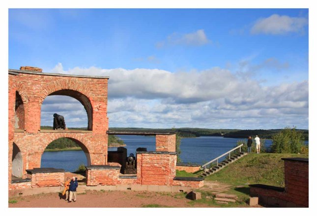 """""""The ruins of the Russian fortress at Bomarsund. After the war of 1809, Russian troops began to build Bomarsund as a defence against the Swedes. Construction took decades, and the mammoth building was operational but not wholly complete by the time the Crimean War (1854) came around. Twenty-five British and French ships bombarded it heavily from the sea; after two days it capitulated and was demolished by the victors. The ruins can be seen on both sides of the main road at the eastern end of Sund, by the bridge leading across a beautiful sound to Prasto island.""""http://www.touristneeds.com/adds-category?srchtype=&cat_id=129"""