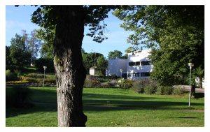 The maritime center in Mariehamn