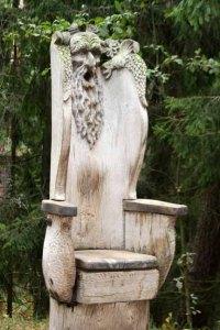 I'm calling this the Poseidon Chair.