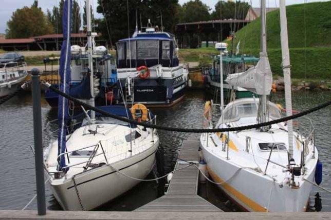 Sailboats in the boat basin       photo by Morgan Thomas