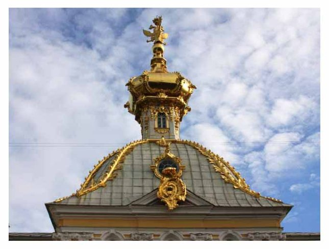 The gold dome of the Grand Palacephoto by Morgan Thomas